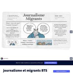Projet médias BTS by CDI LGT la Plaine de Neauphle on Genially