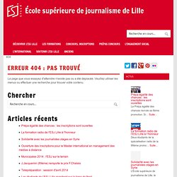 Web Social et journalisme participatif