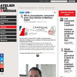 BD et Journalisme: rencontre avec Guy Delisle et Mathieu Sapin