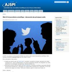 Web 2.0 et journalisme scientifique : découverte des principaux outils