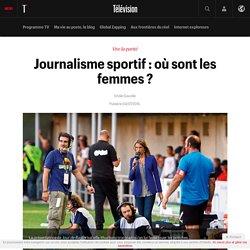 Journalisme sportif : où sont les femmes ?