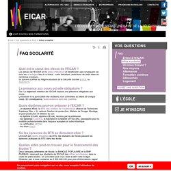 Infos scolarité Eicar - Ecole de journalisme et télévision à Paris