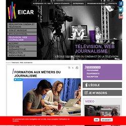 Formation journalisme Paris - Ecole de journalisme, et télévision, métiers du Web