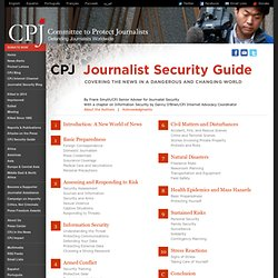 Journalist Security Guide - Reports