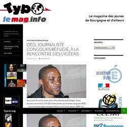 Déo, journaliste congolais réfugié, à la rencontre des lycéens
