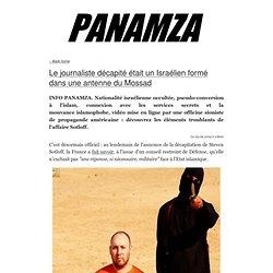 » Le journaliste décapité était un Israélien formé dans une antenne du Mossad