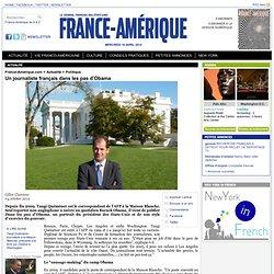 Un journaliste français dans les pas d'Obama