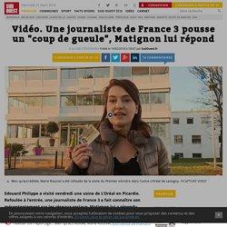 """Vidéo. Une journaliste de France 3 pousse un """"coup de gueule"""", Matignon lui répond"""