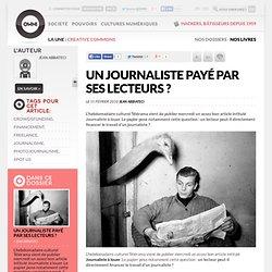 Un journaliste payé par ses lecteurs ? | Owni.fr