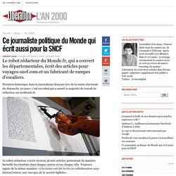 Ce journaliste politique du Monde qui écrit aussi pour la SNCF