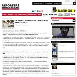 Des manifestants mettent le feu à un club de presse : trois journalistes blessés