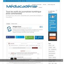 Tous les outils du journaliste numérique (liste commentée)