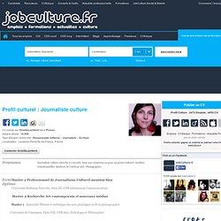 Profil Culturel CV candidat OrnellaLamberti - Journaliste culture