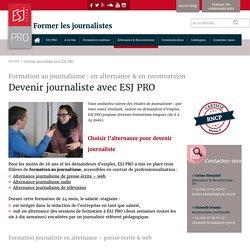 Lille, Paris, Montp : ESJ PRO (pr)
