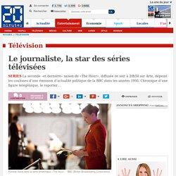 Le journaliste, la star des séries télévisées