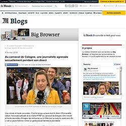 Au carnaval de Cologne, une journaliste agressée sexuellement pendant son direct