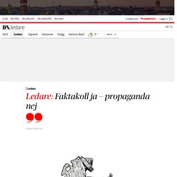 Journalister ska inte skönmåla Sverige