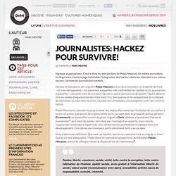 Journalistes: hackez pour survivre!