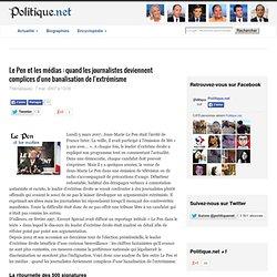 Le Pen et les médias : quand les journalistes deviennent complices d'une banalisation de l'extrémisme