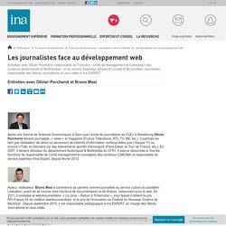 Les journalistes face au développement web / E-dossier de l'audiovisuel : Journalisme, Internet, libertés