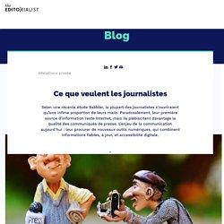 Ce que veulent les journalistes - The Editorialist