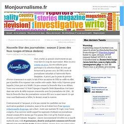 Nouvelle Star des journalistes : season 2