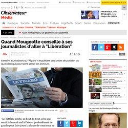 """Quand Mougeotte conseille à ses journalistes d'aller à """"Libération"""""""