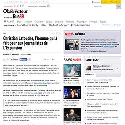 Christian Latouche, l'homme qui a fait peur aux journalistes de L'Expansion