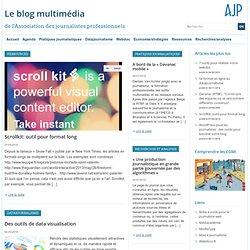 7 outils pour réaliser votre webdoc - Le blog multimédia