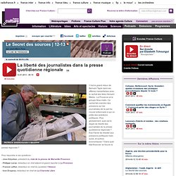 La liberté des journalistes dans la presse quotidienne régionale