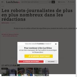 Les robots-journalistes de plus en plus nombreux dans les rédactions