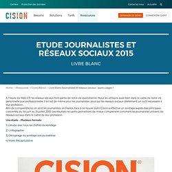 Livre blanc Journalistes et réseaux sociaux : quels usages ?