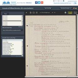 1900:Jun-Dec - Journals of William Brewster, 1871-1919 (inclusive)