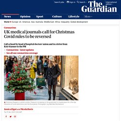 UK medical journals call for Christmas Covid rules to be reversed
