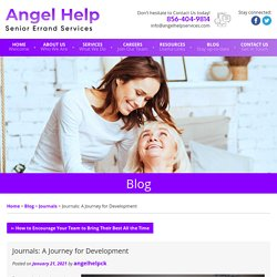 Journals: A Journey for Development