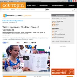 Travel Journals: Student-Created Textbooks