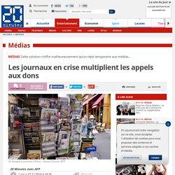 Les journaux en crise multiplient les appels aux dons