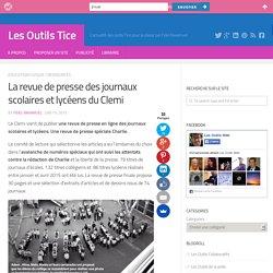 La revue de presse des journaux scolaires et lycéens du Clemi