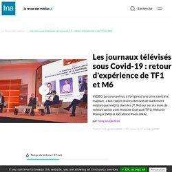 Les journaux télévisés sous Covid-19 : retour d'expérience de TF1 et M6