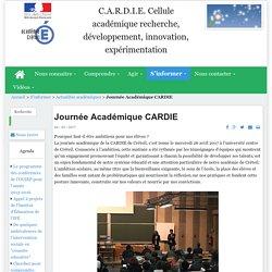 Journée Académique CARDIE