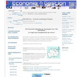 TRAAM 2011 - Journée académique Eutopia