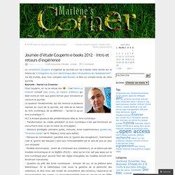 Journée d'étude Couperin e-books 2012 – Intro et retours d'expérience