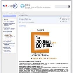 Journée du Direct - CLEMI
