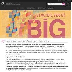 Journée d'étude «Big et Open Data»
