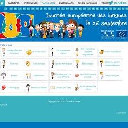 Journée européenne des langues > Language Fun