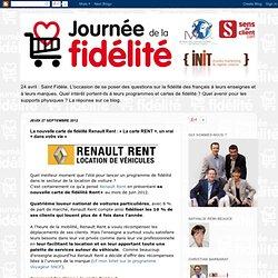 Journée de la fidélité: La nouvelle carte de fidélité Renault Rent : «La carte RENT +, un vrai + dans votre vie»