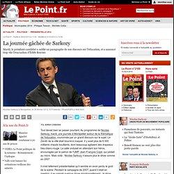 La journée gâchée de Sarkozy
