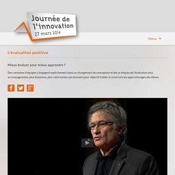 Journée de l'innovation 2014 -