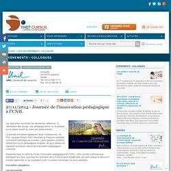 27/11/2014 - Journée de l'innovation pédagogique à l'UNIL