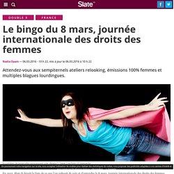 Le bingo du 8 mars, journée internationale des droits des femmes